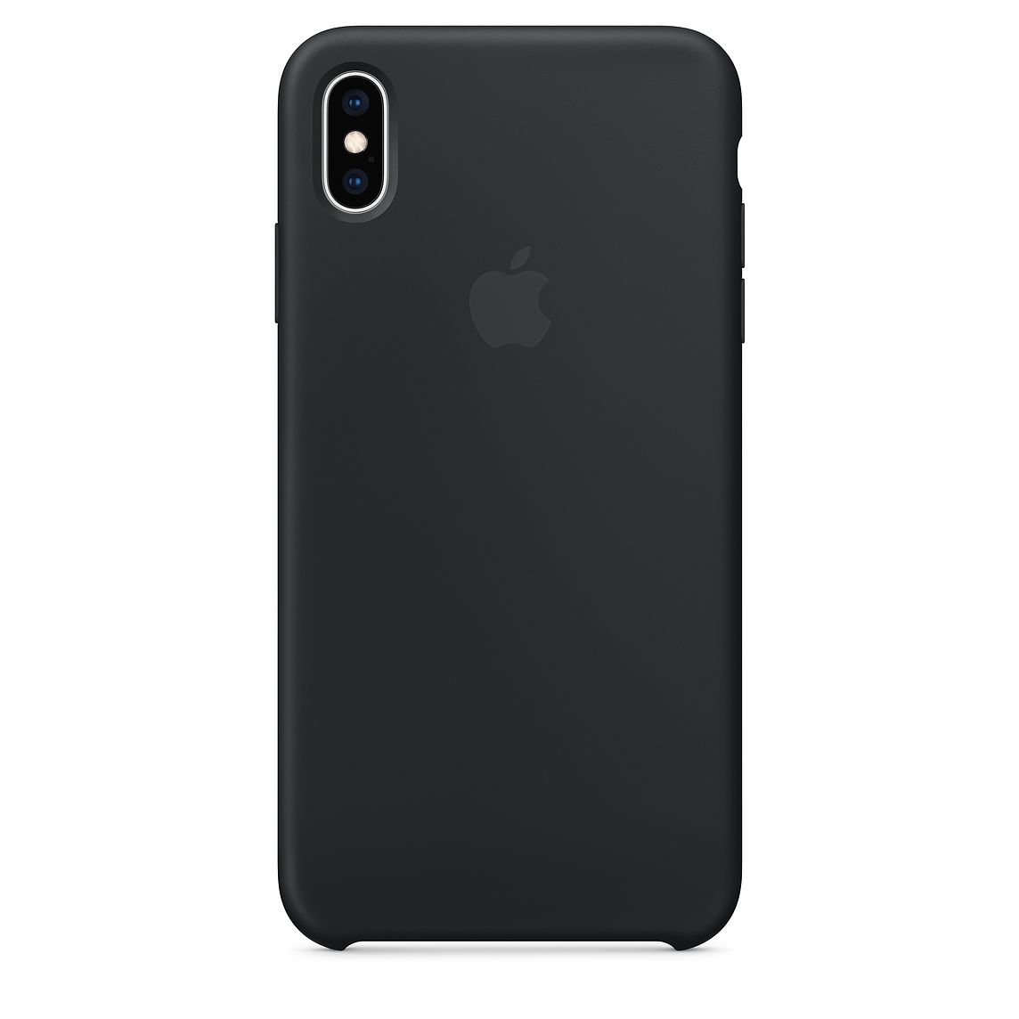 Ochranný kryt pro iPhone XS Max - Apple, Silicone Case Black