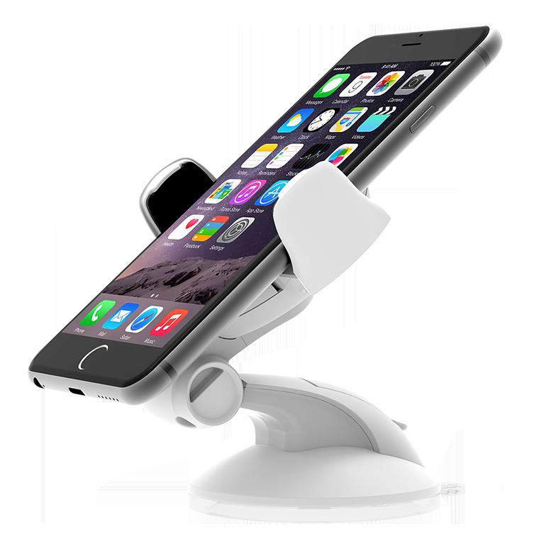 Univerzální držák do auta pro Apple iPhone 4 / 4S / 5 / 5S / 6 / 6S / SE - iOttie, Easy Flex 3 White