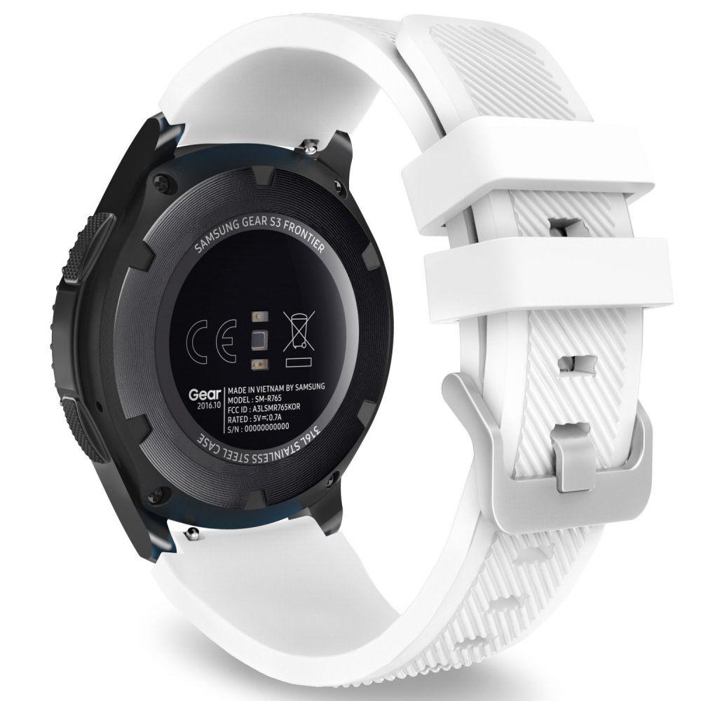 Řemínek pro Samsung Galaxy Watch 46mm - Tech-Protect, Smoothband White
