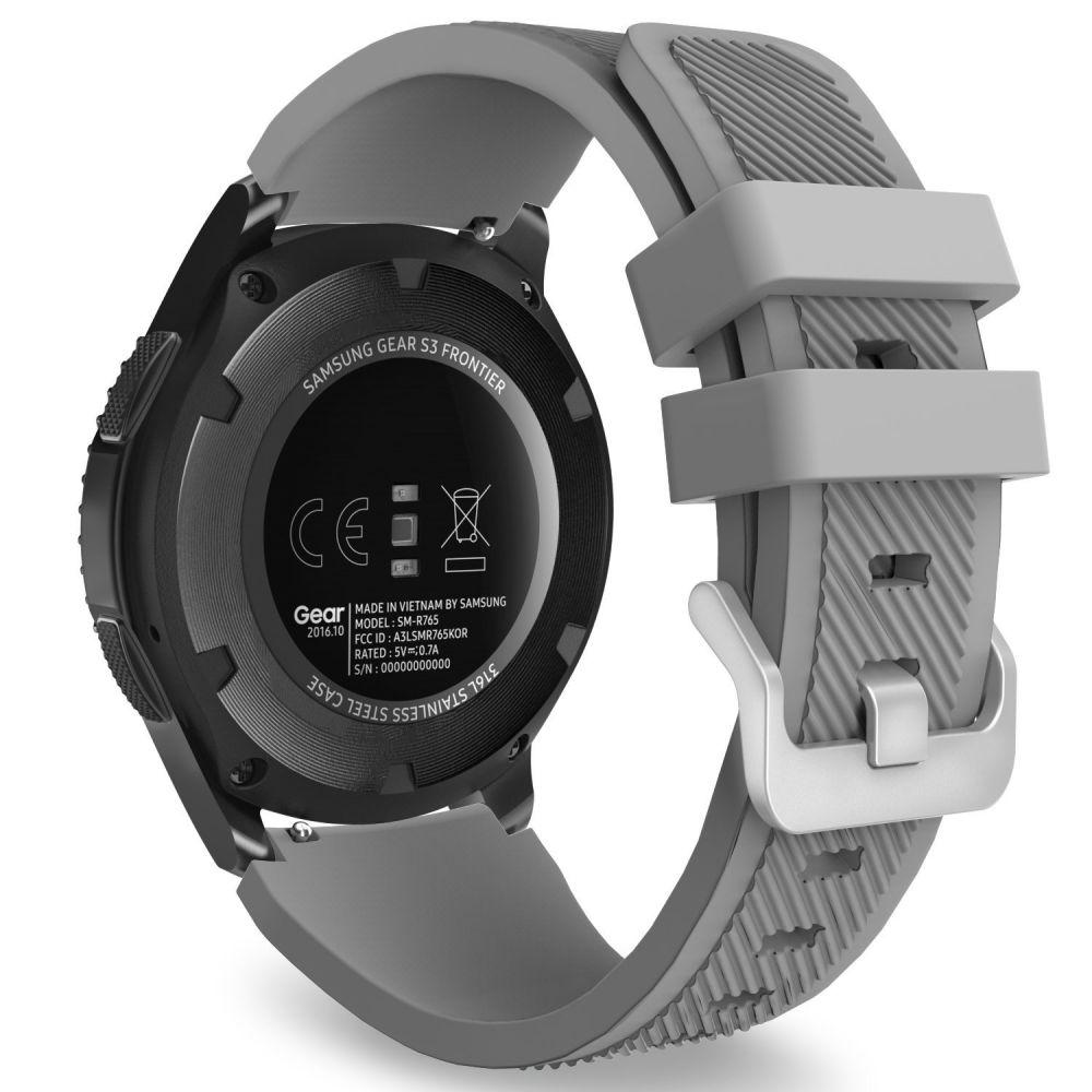 Řemínek pro Samsung Galaxy Watch 46mm - Tech-Protect, Smoothband Gray