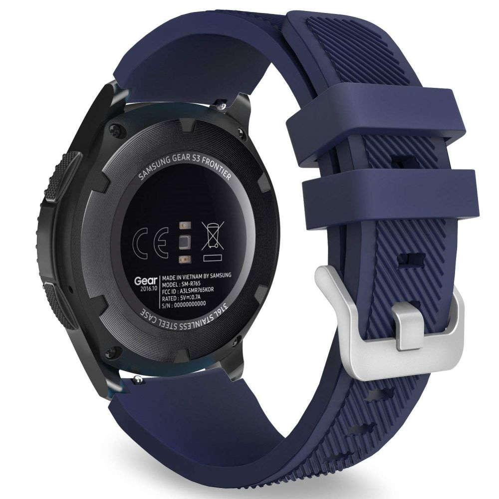 Řemínek pro Samsung Galaxy Watch 46mm - Tech-Protect, Smoothband Blue