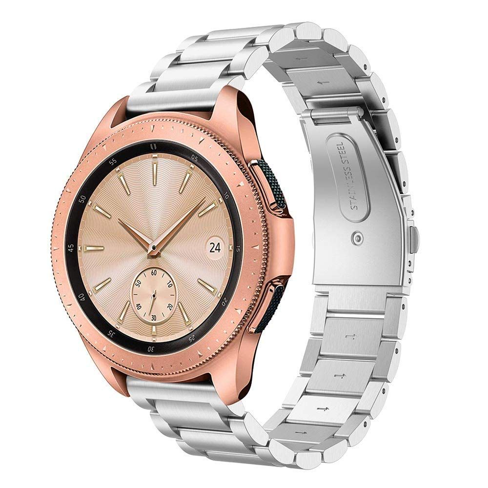 Řemínek pro Samsung Galaxy Watch 46mm - Tech-Protect, Stainless Silver