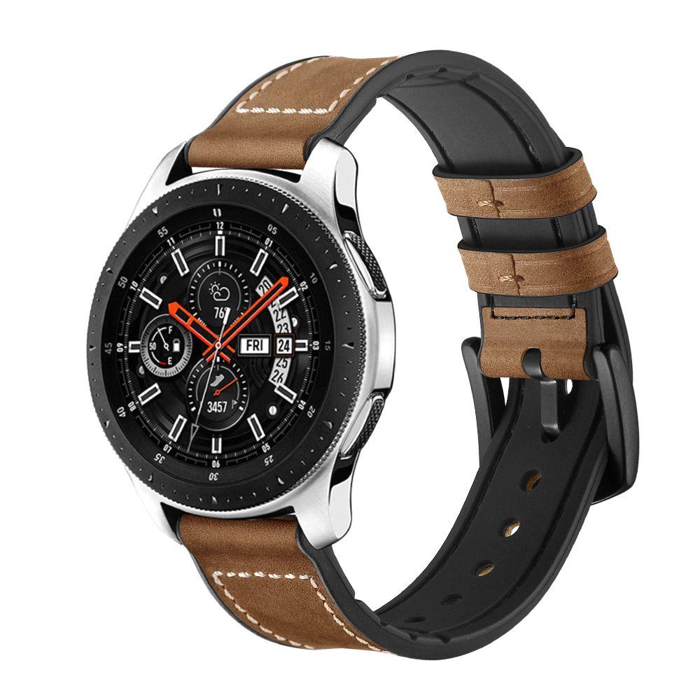Řemínek pro Samsung Galaxy Watch 46mm - Tech-Protect, Osoband Brown
