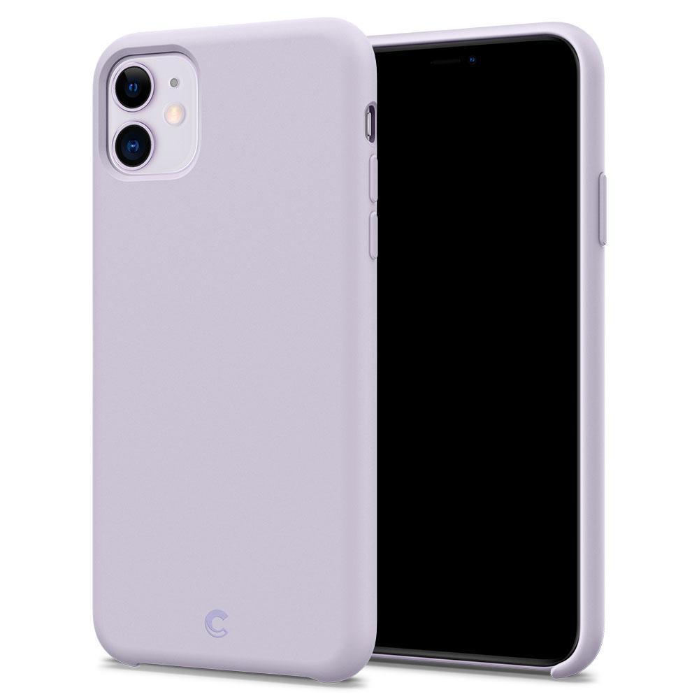 Ochranný kryt na iPhone 11 - Spigen, Silicone Lavender