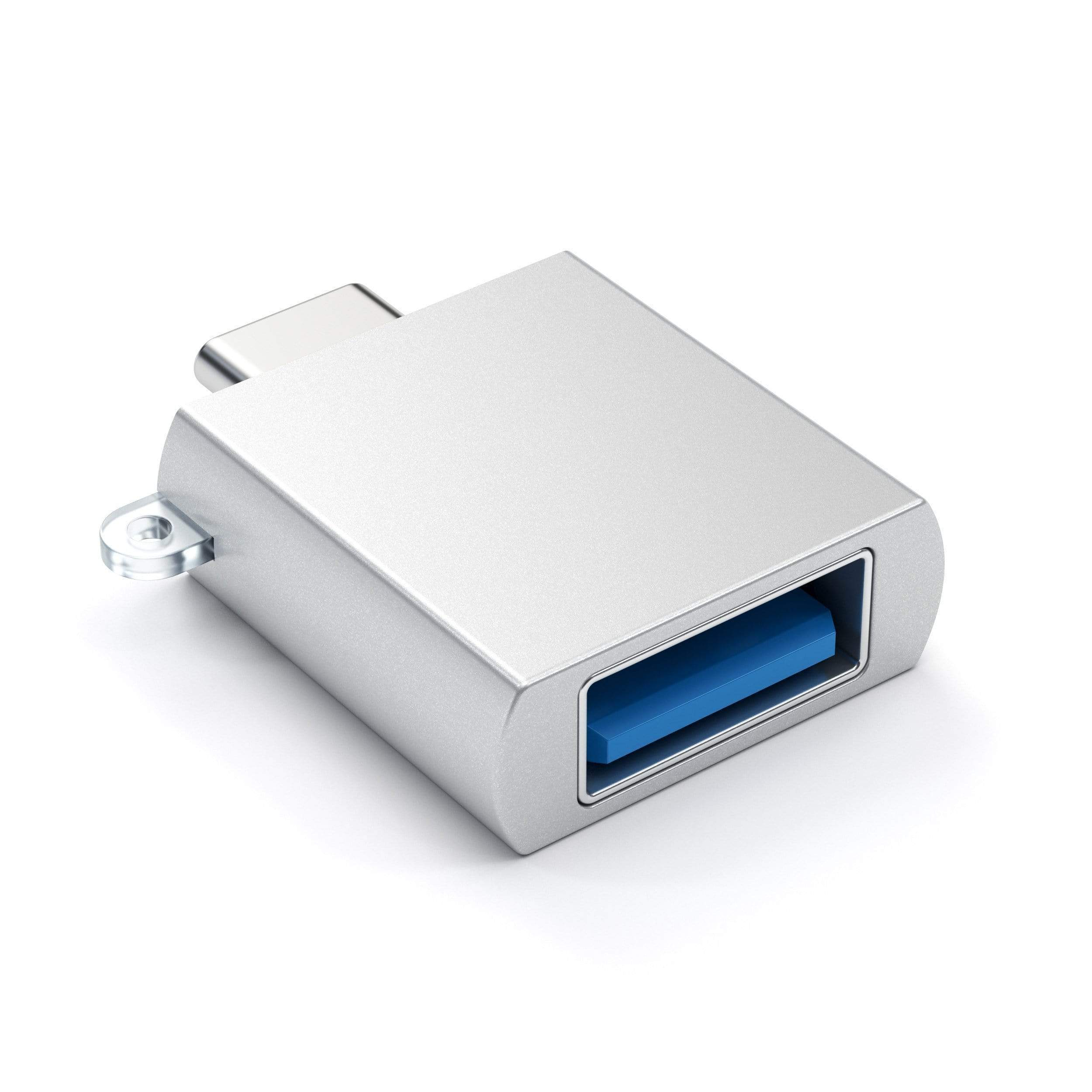 Redukce / adaptér - Satechi, USB-C to USB-A Silver
