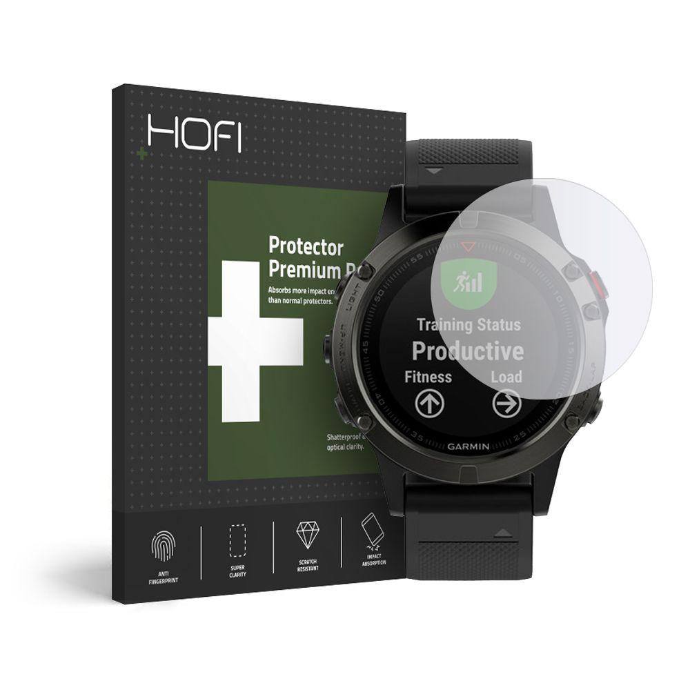 Levně Hybridní ochranné sklo na Garmin Fenix 5 / 6 / 6 PRO - Hofi, Glass Pro+