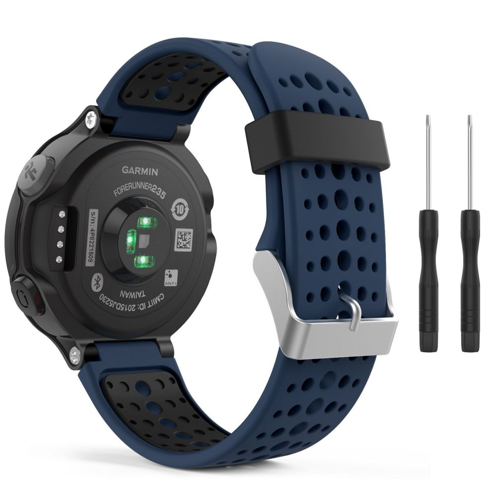 Řemínek pro Garmin Forerunner 220 / 230 / 235 / 630 / 735 - Tech-Protect, Smooth Blue