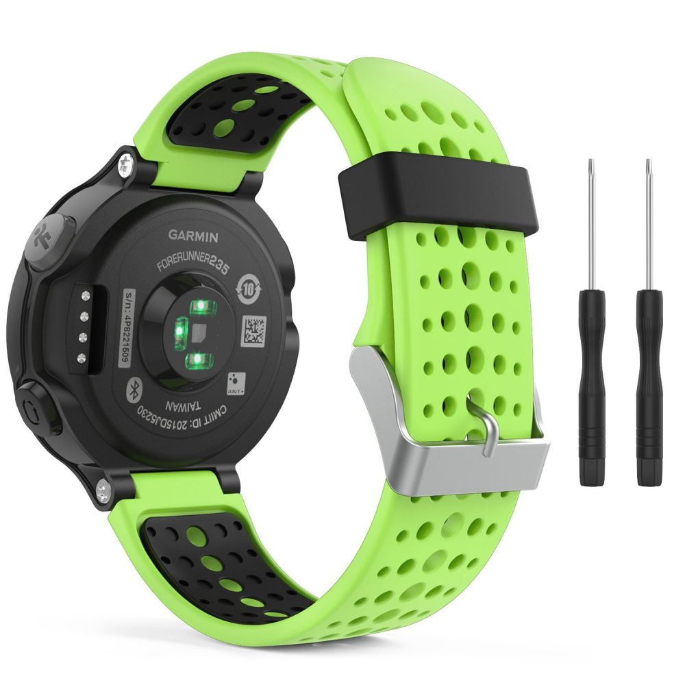 Řemínek pro Garmin Forerunner 220 / 230 / 235 / 630 / 735 - Tech-Protect, Smooth Lime