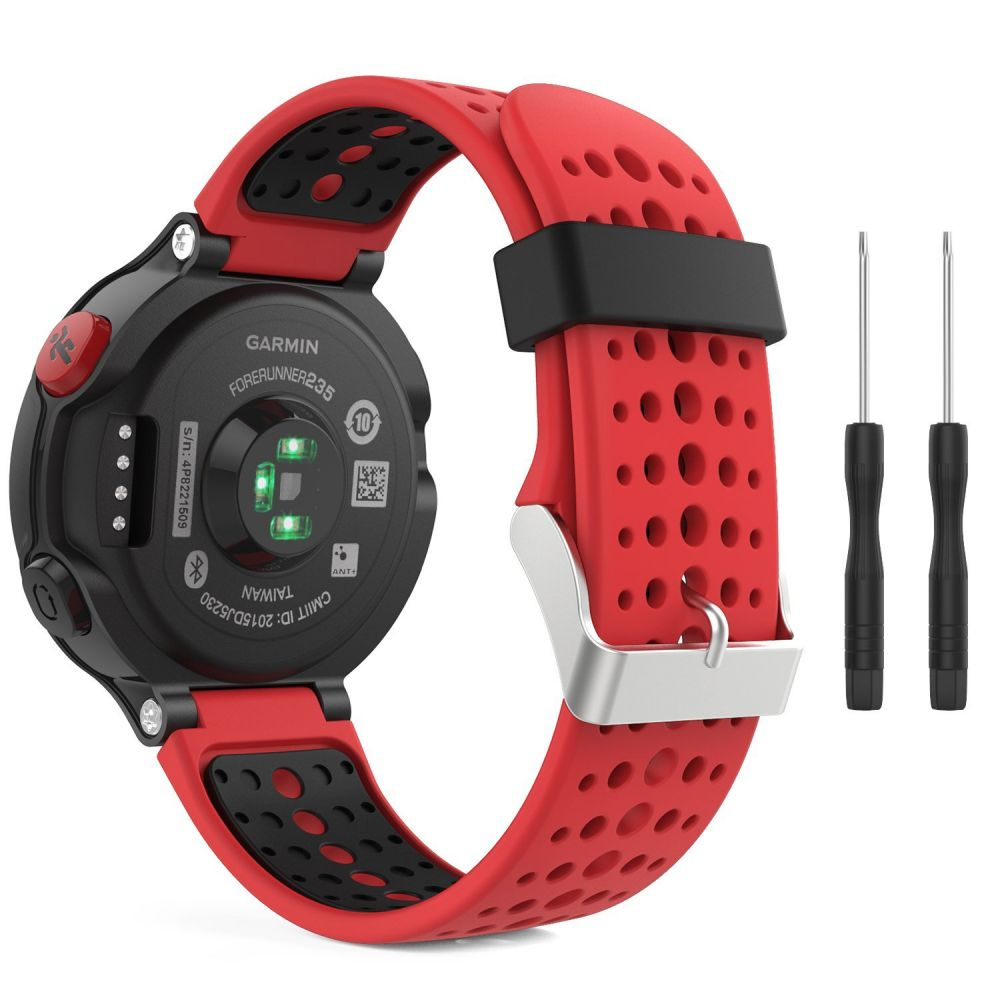 Řemínek pro Garmin Forerunner 220 / 230 / 235 / 630 / 735 - Tech-Protect, Smooth Red
