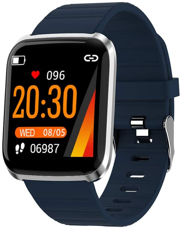 Fitness chytré hodinky - 116pro Blue
