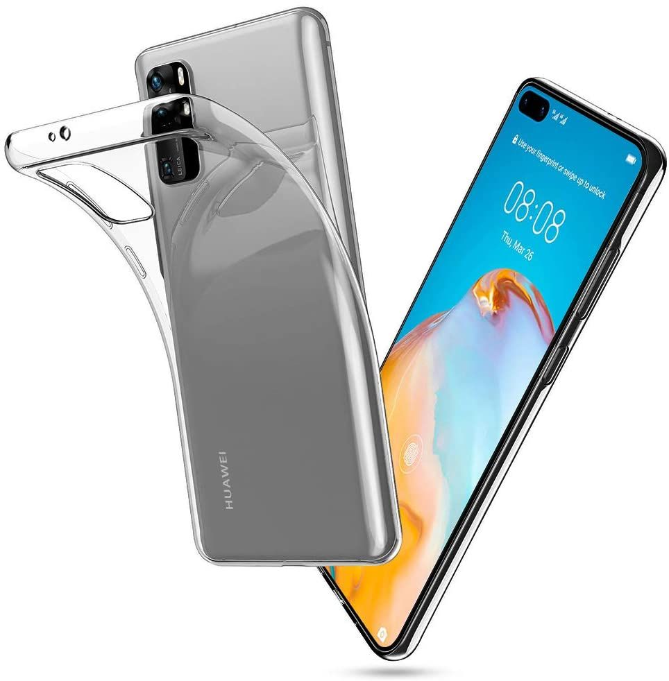 Levně Ochranný kryt pro Huawei P40 PRO - Tech-Protect, FlexAir Crystal