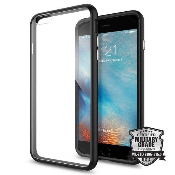 Pouzdro / kryt pro Apple iPhone 6 Plus / 6S Plus - Spigen, Ultra Hybrid Black