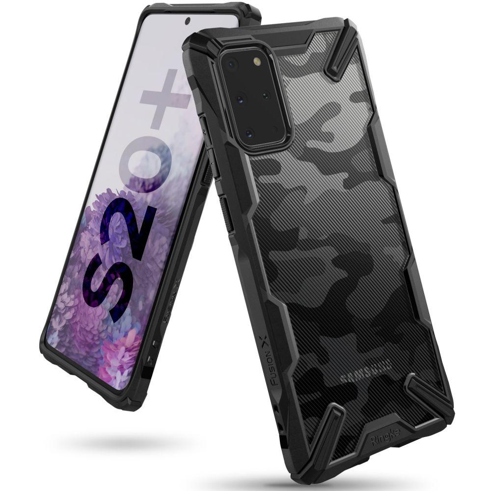 Ochranný kryt pro Samsung GALAXY S20 PLUS - Ringke, Fusion-X Camo
