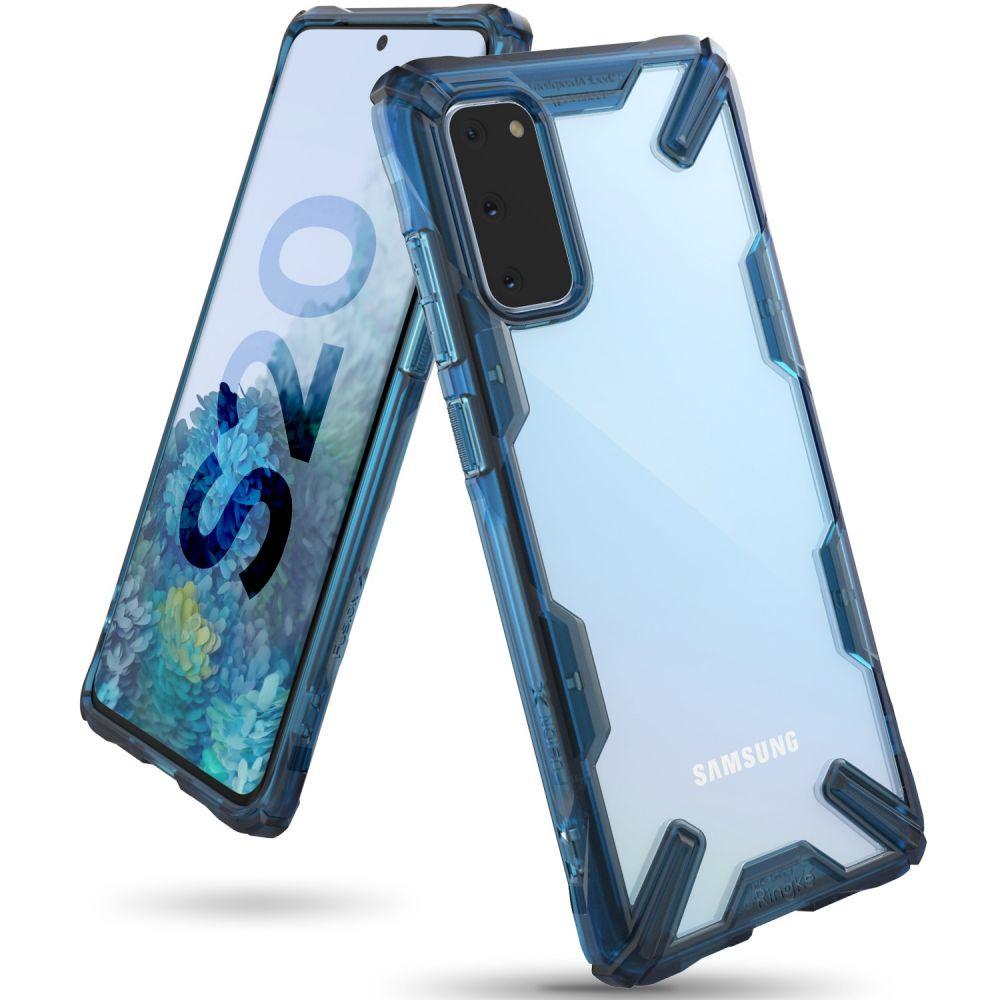 Ochranný kryt pro Samsung GALAXY S20 - Ringke, Fusion-X Space Blue