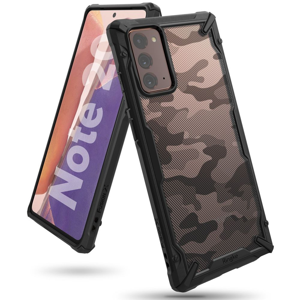 Ochranný kryt pro Samsung GALAXY NOTE 20 - Ringke, Fusion-X Camo