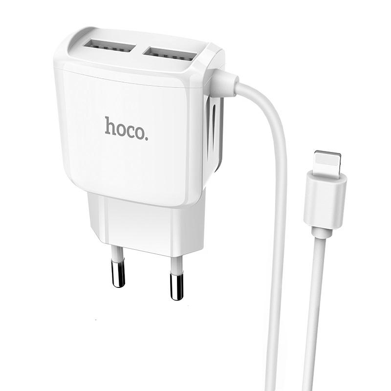 Nabíječka do sítě s Lightning kabelem pro iPhone a iPad - Hoco, C59A MegaJoy