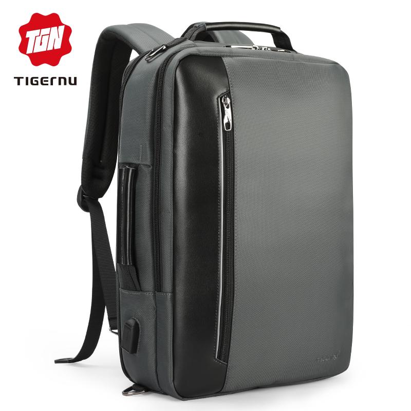 Městský batoh 15.6'' - Tigernu, T-B3639 Gray