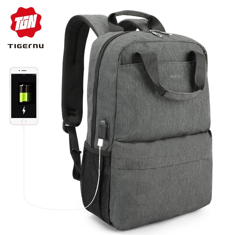 Městský batoh 15.6'' - Tigernu, T-B3508 Gray