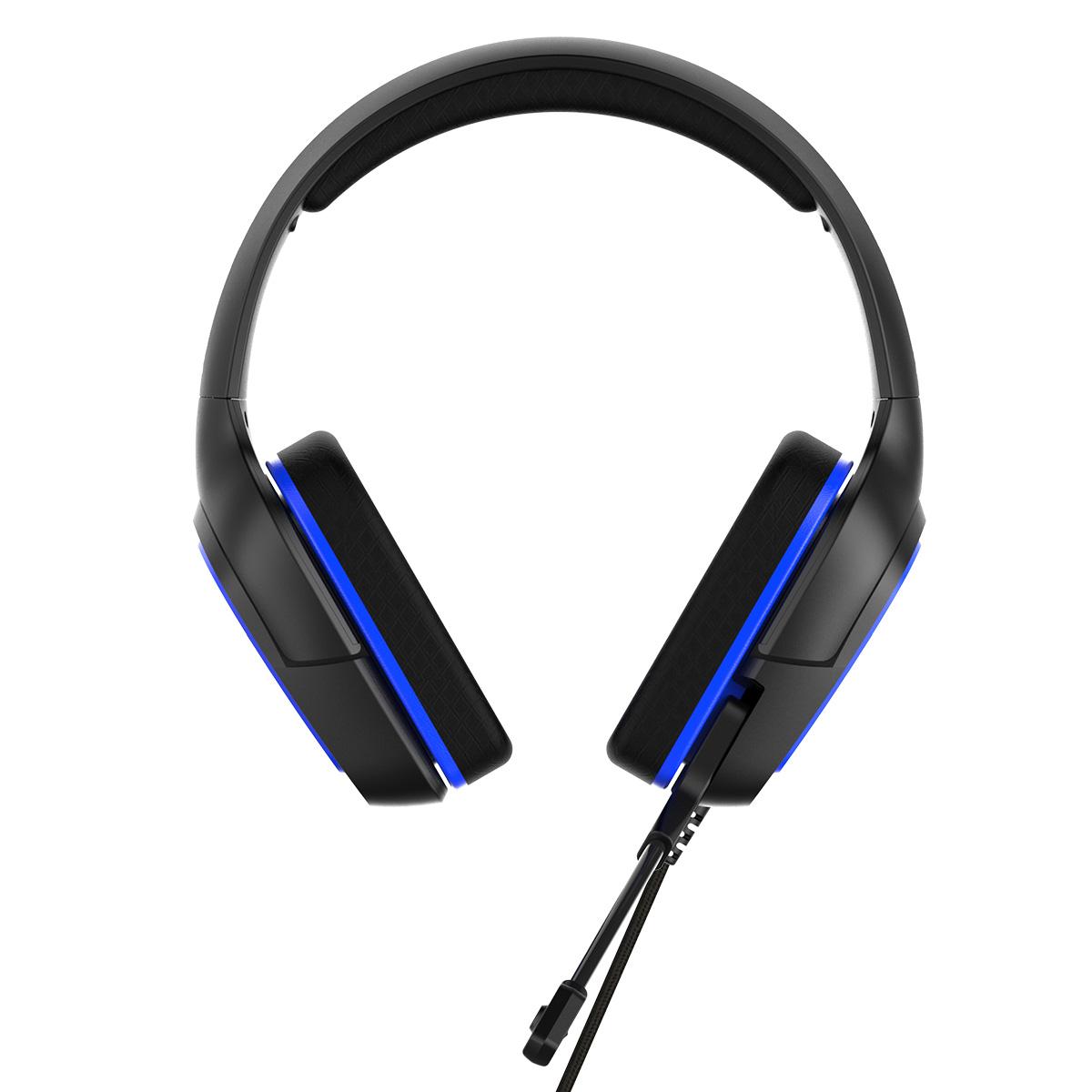 Herní sluchátka s mikrofonem - iPega, PG-R006 Blue