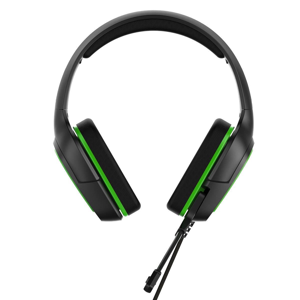 Herní sluchátka s mikrofonem - iPega, PG-R006 Green