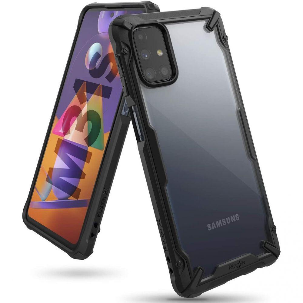 Ochranný kryt pro Samsung Galaxy M31S - Ringke, Fusion-X Black
