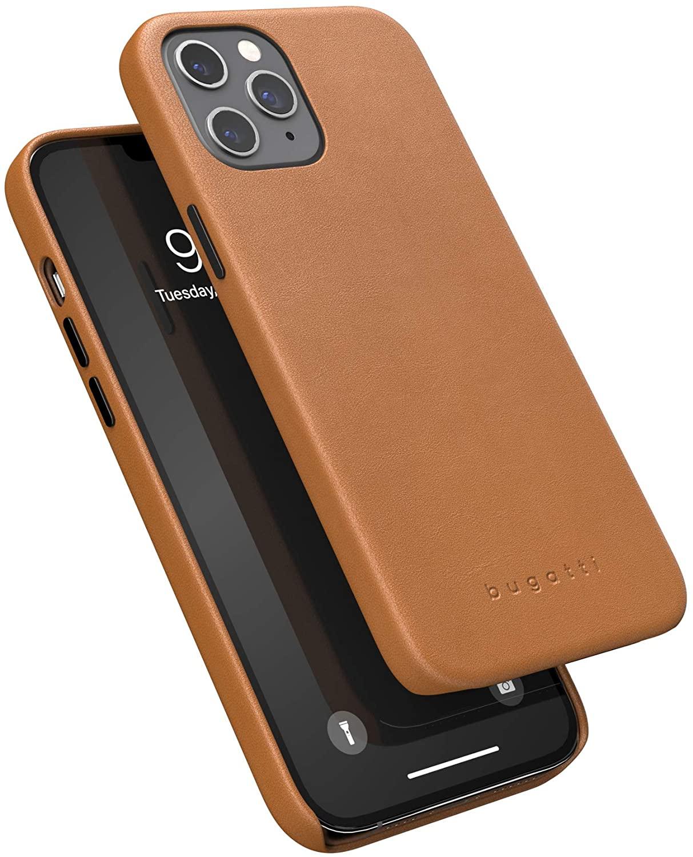 Kožený kryt na iPhone 12 Pro MAX - Bugatti, Porto Brown