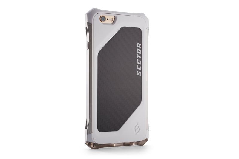 Pouzdro / kryt pro Apple iPhone 6 - Element, Sector Alpine White - VÝPRODEJ