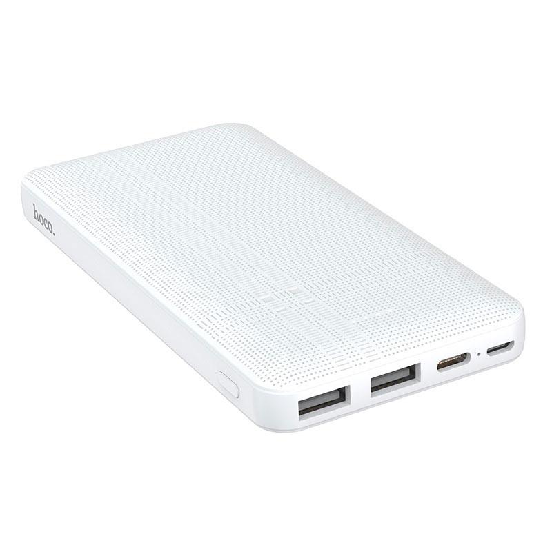 Externí baterie / powerbanka - HOCO, J48 Nimble 10000mAh White