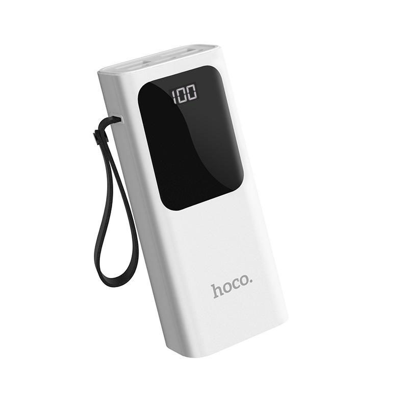 Externí baterie / powerbanka - HOCO, J41 Treasure 10000mAh White