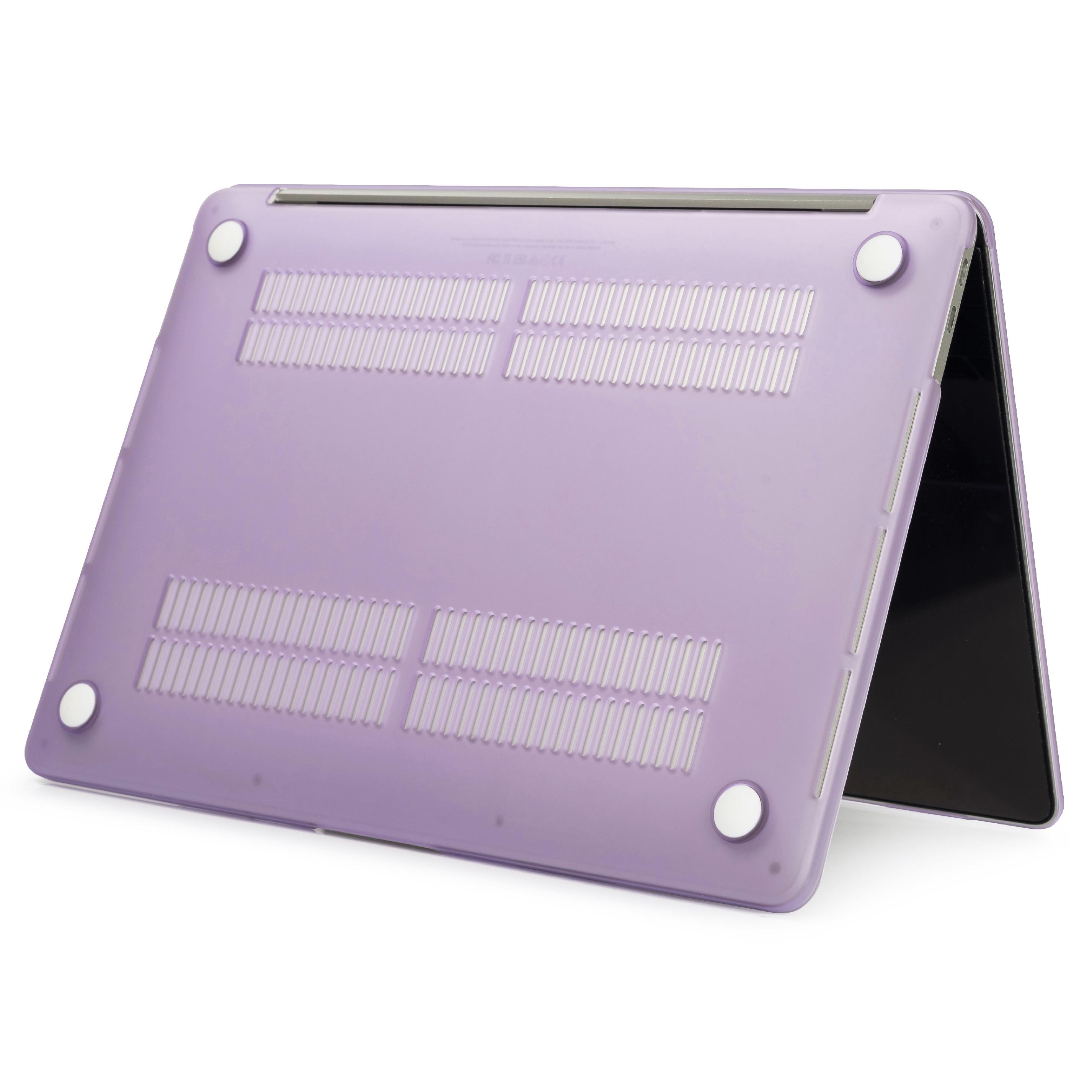 Polykarbonátové pouzdro / kryt na MacBook Air 13 (2010-2017) - matný fialový