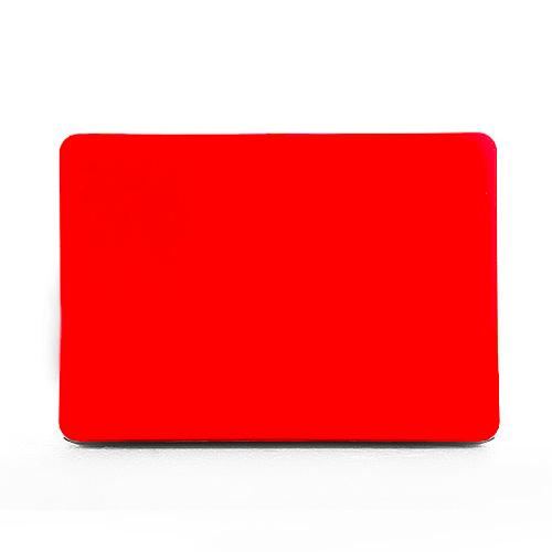 Polykarbonátové pouzdro / kryt na MacBook Pro Retina 13 - matný červený
