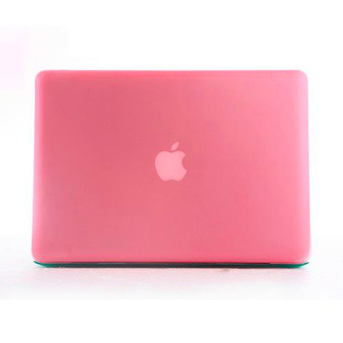 Polykarbonátové pouzdro / kryt na MacBook Pro Retina 13 - matný růžový