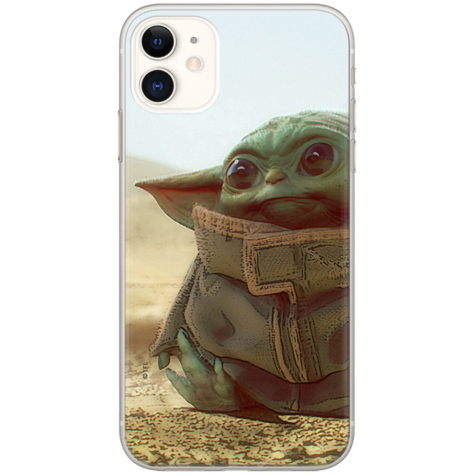 Levně ERT Ochranný kryt pro iPhone 12 mini - Star Wars, Baby Yoda 003 SWPCBYODA708