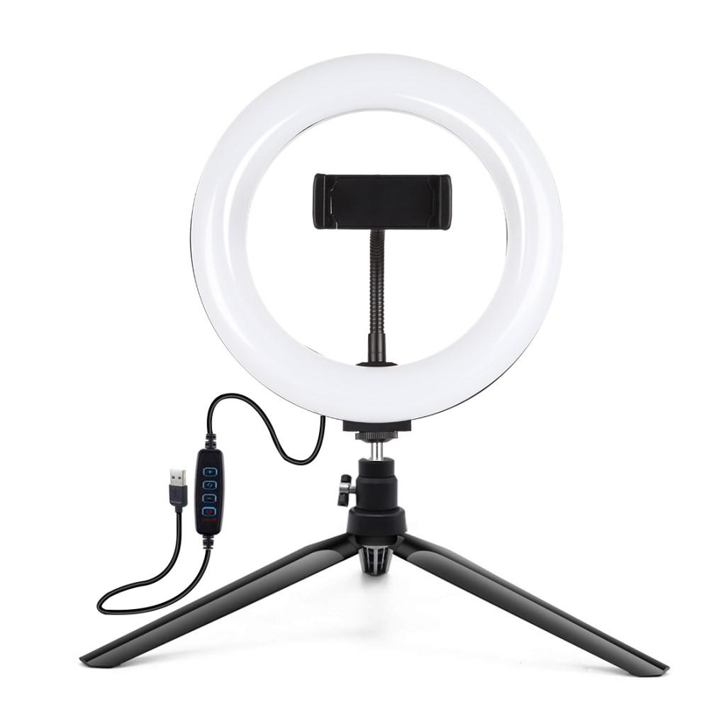 """Kruhové ring light LED světlo - Puluz, PKT3073B 7.9"""""""