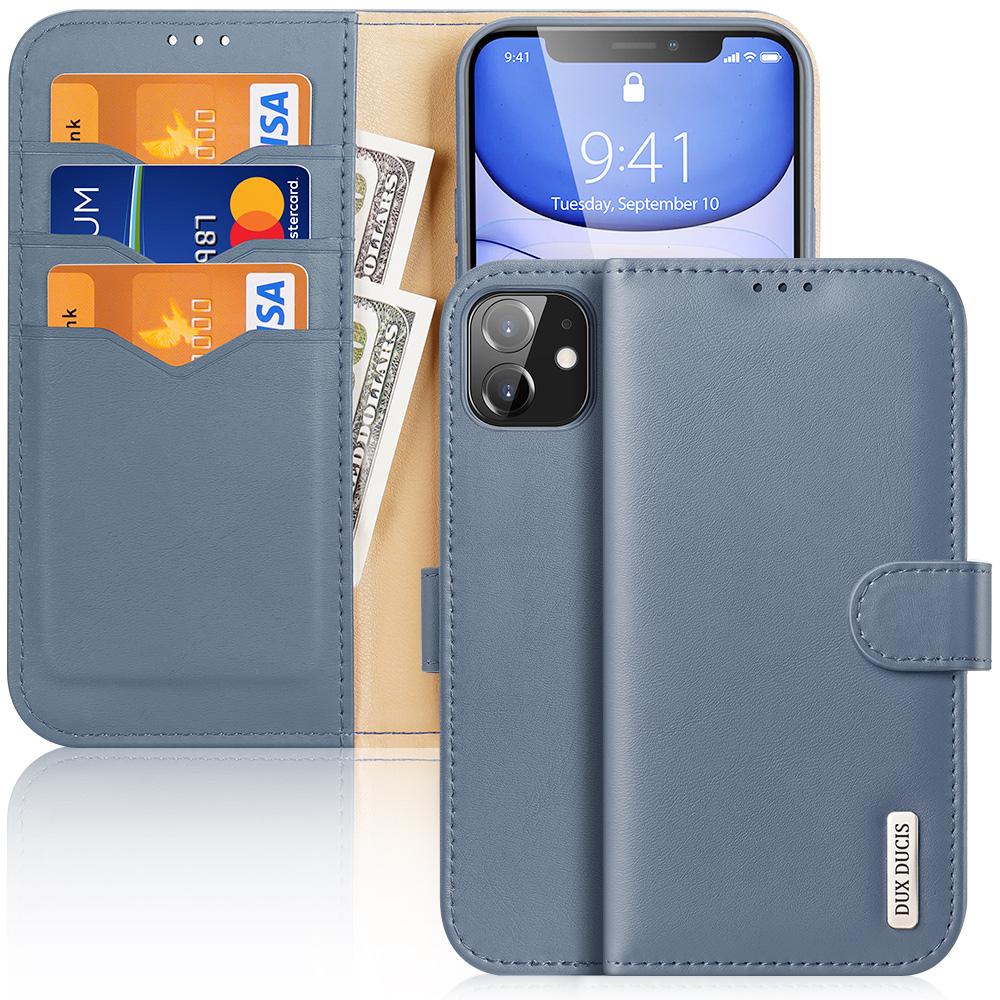 Knížkové pouzdro na iPhone 11 - DuxDucis, Hivo Blue