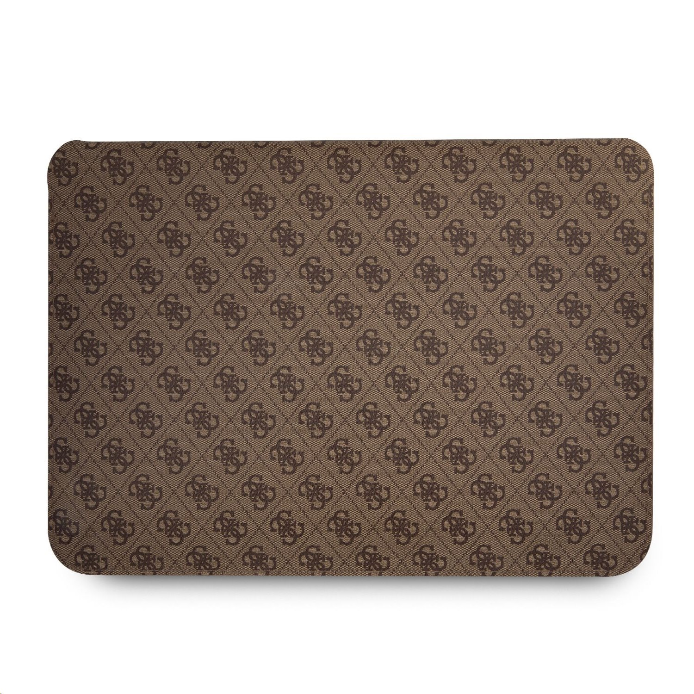 "Pouzdro na notebook 13"" - Guess, 4G Metal Logo Sleeve Brown"