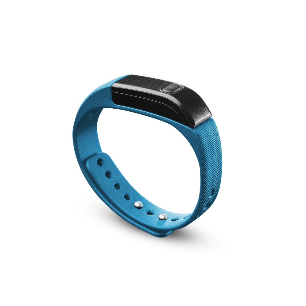 Bluetooth fitness náramek - CellularLine, EASYFIT Blue