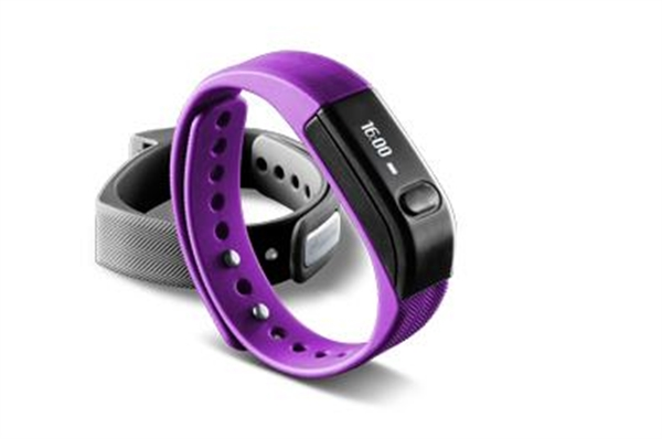 Bluetooth fitness náramek - CellularLine, EASYFIT Purple