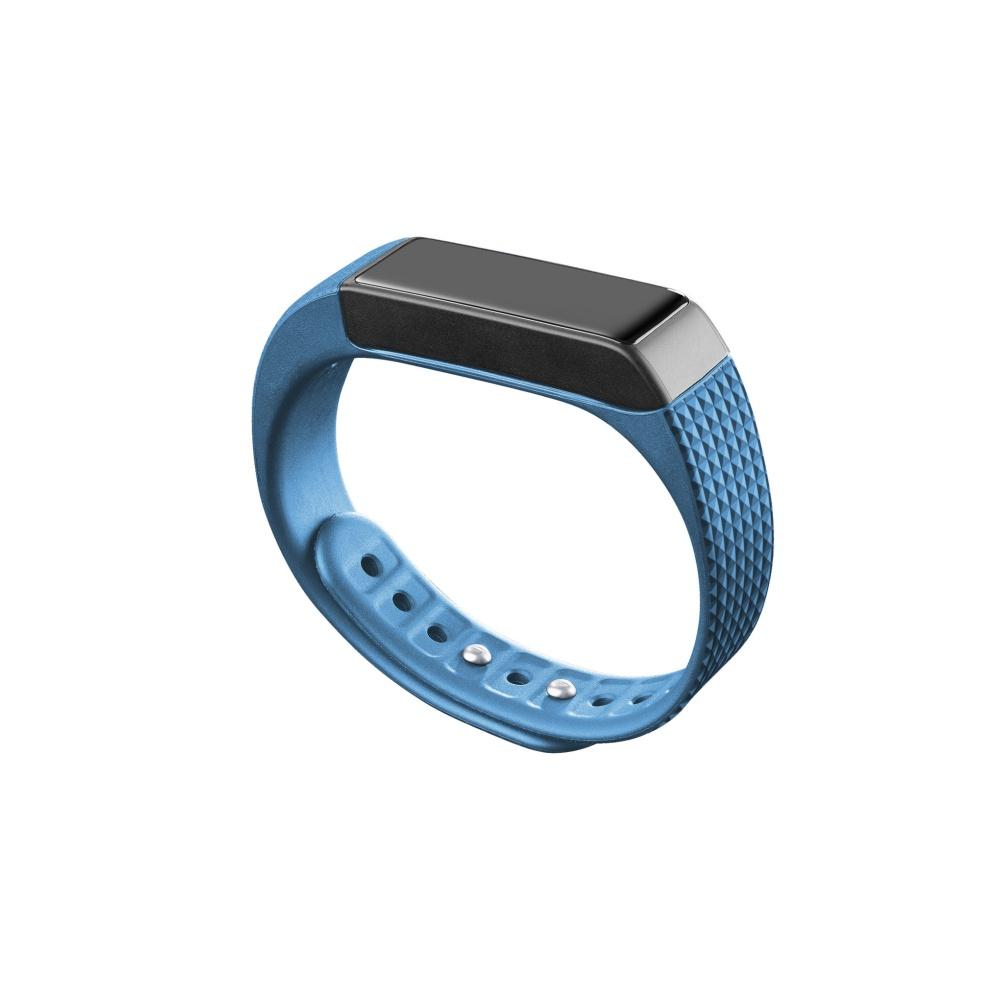 Bluetooth fitness náramek s dotykovým displejem - CellularLine, EASYFIT TOUCH Blue