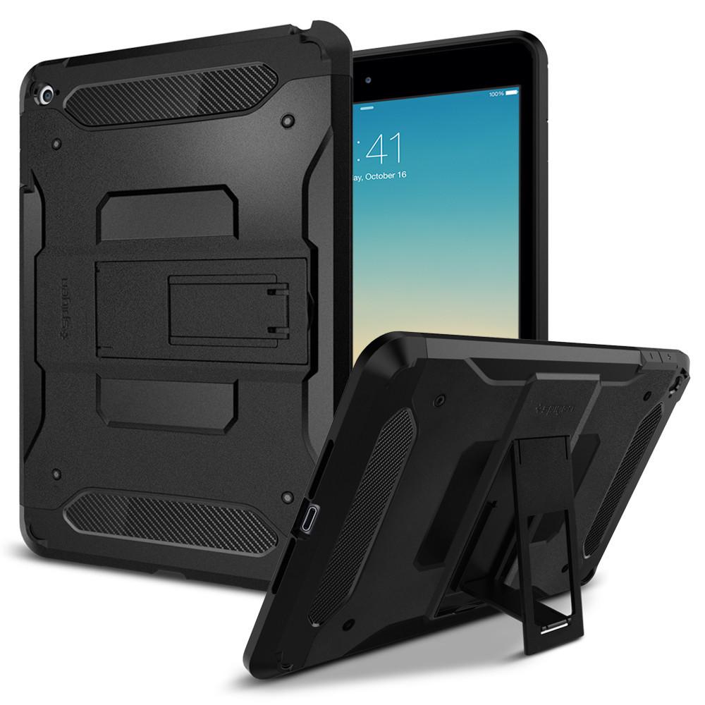 Pouzdro / kryt pro Apple iPad mini 4 - Spigen, Tough Armor Smooth Black