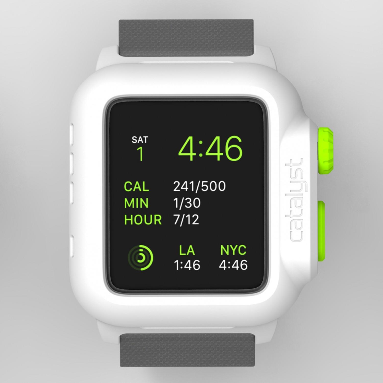 Voděodolné pouzdro / kryt pro Apple Watch 42mm - Catalyst, Waterproof Green Pop