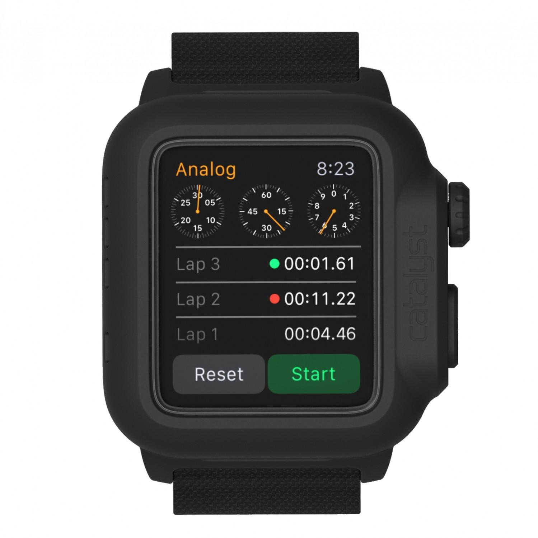 Voděodolné pouzdro / kryt pro Apple Watch 42mm - Catalyst, Waterproof Stealth Black