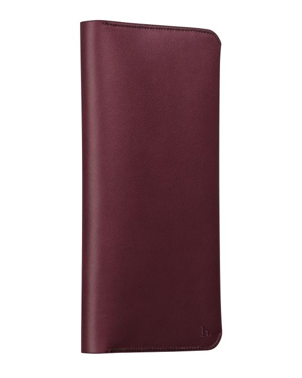 Peněženka / pouzdro pro Apple iPhone 6 / 6S / 6 Plus / 6S Plus - Hoco, CardCase Wine