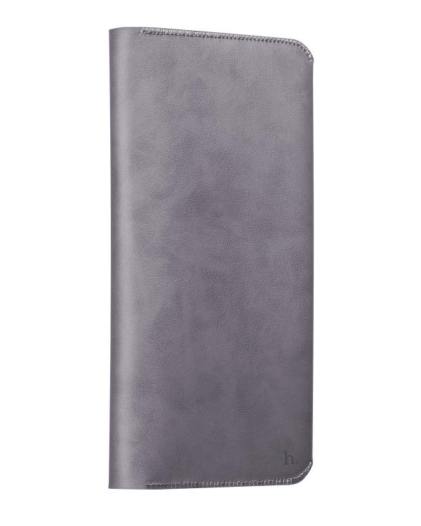 Peněženka / pouzdro pro Apple iPhone 6 / 6S / 6 Plus / 6S Plus - Hoco, CardCase Gray