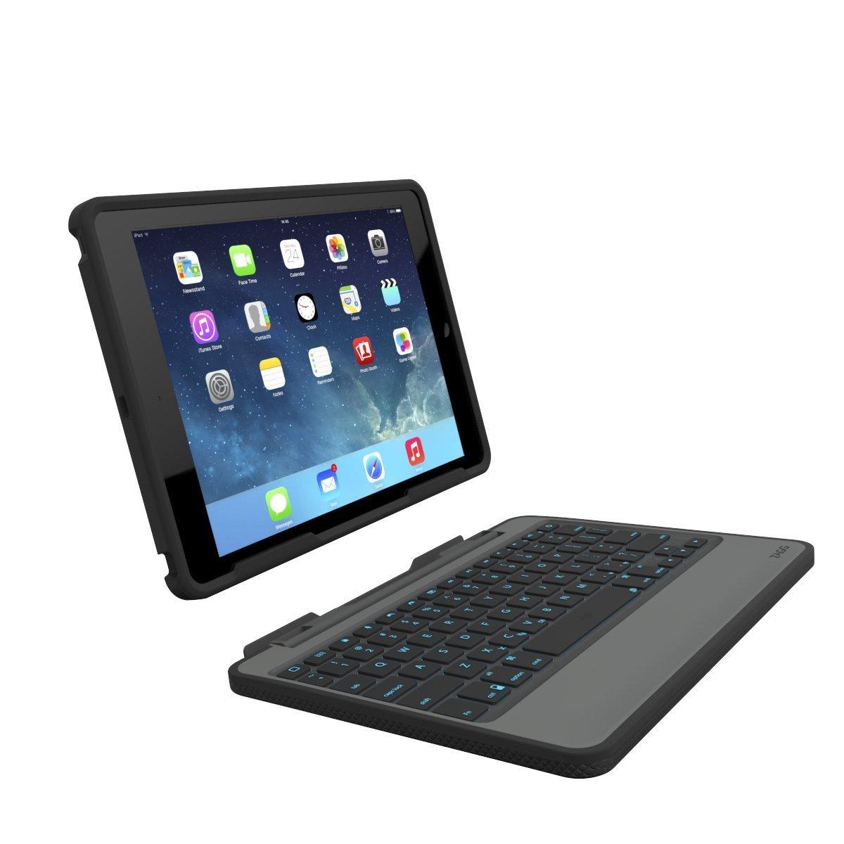 Klávesnice pro iPad Air 2 - ZAGGkeys, Rugged Book CZ/SK