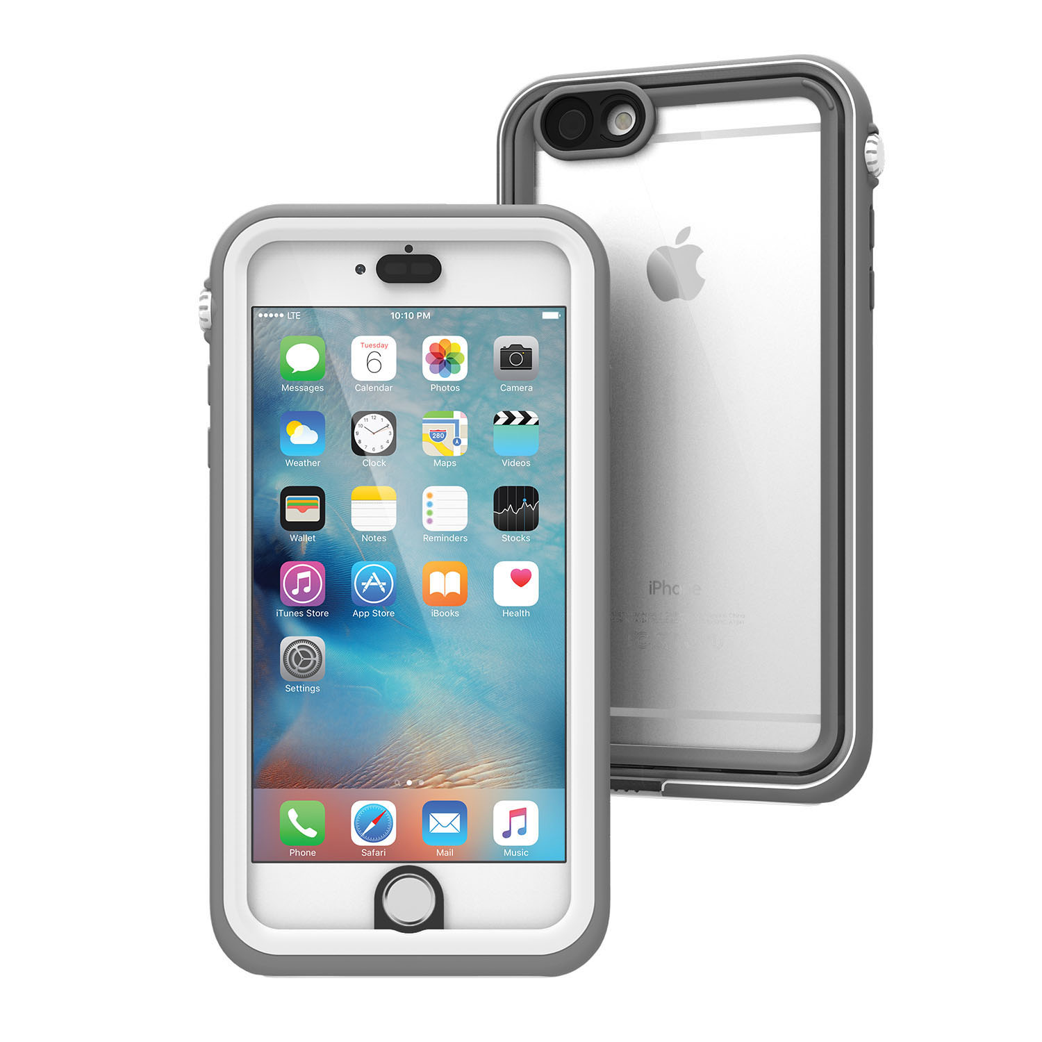 Voděodolné pouzdro / kryt pro Apple iPhone 6 Plus / 6S Plus - Catalyst Waterproof case, White