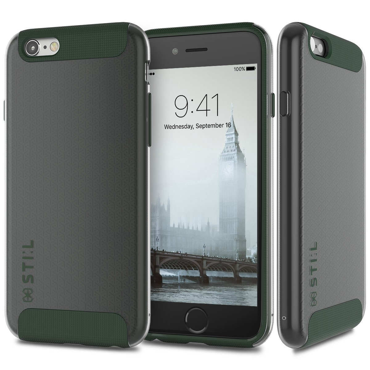Pouzdro / kryt pro Apple iPhone 6 / 6S - STILMIND, LONDON FOG KHAKI