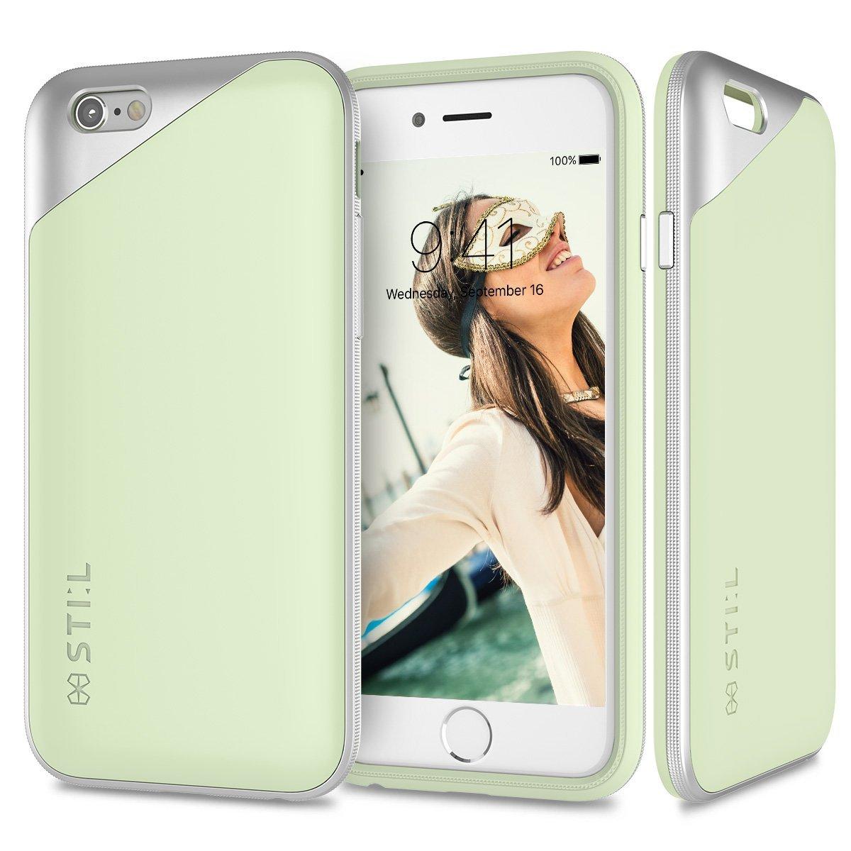 Pouzdro / kryt pro Apple iPhone 6 / 6S - STILMIND, MASQUERADE GREEN