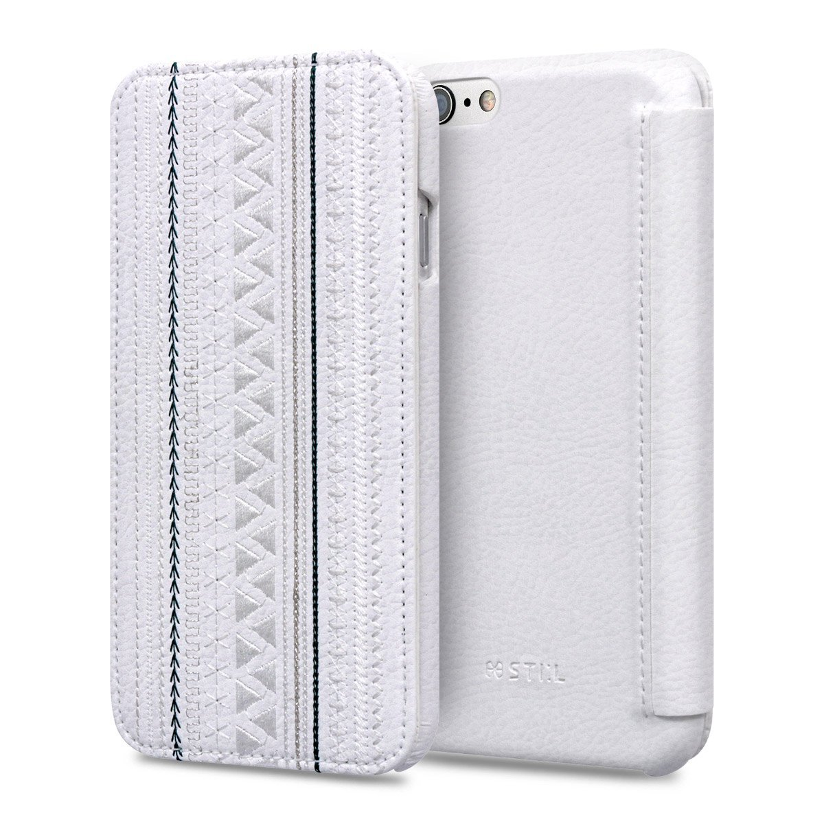 Pouzdro / kryt pro Apple iPhone 6 / 6S - STILMIND, BOHEMIAN CHIC WHITE