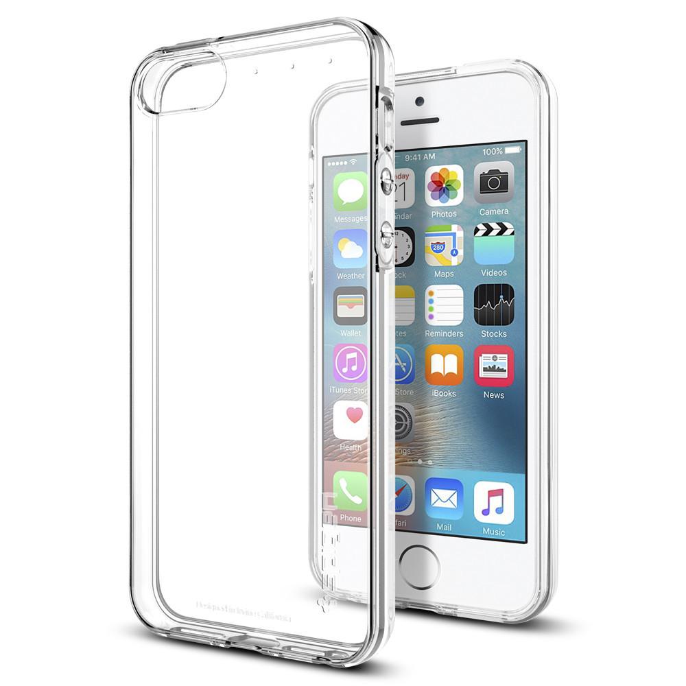 Pouzdro / kryt pro Apple iPhone 5 / 5S / SE - Spigen, Liquid Crystal